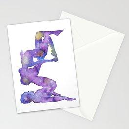 AcroYoga Nebula Stationery Cards