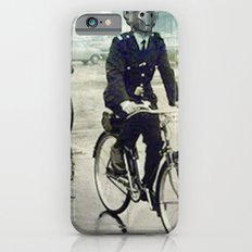 Cybermen on bikes iPhone 6s Slim Case