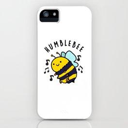Humblebee Cute Bumblebee Pun iPhone Case