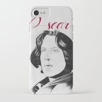 oscar wilde iPhone & iPod Cases featuring Oscar by beecharly