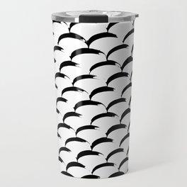 Inked Fish Scales Travel Mug