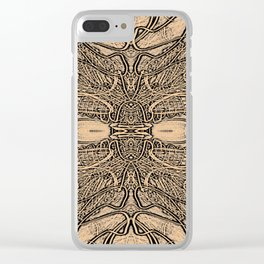 Lines Intra Clear iPhone Case