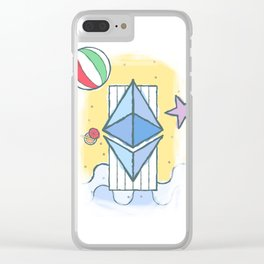 ETH #worthit Clear iPhone Case