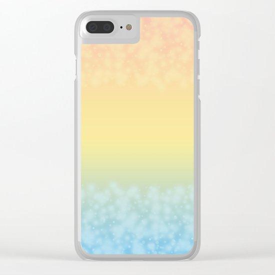 Tropical heat . Clear iPhone Case