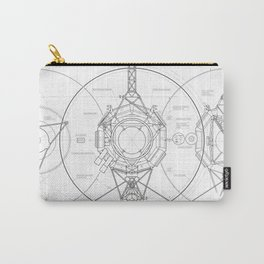 Voyager Blueprint Carry-All Pouch