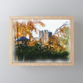 Alnwick Castle Painting Framed Mini Art Print