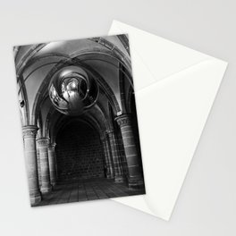 Silent Moment at Mont Saint-Michel Stationery Cards