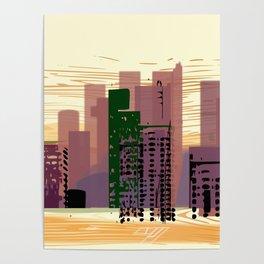 City Center Poster