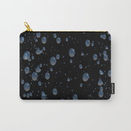 Water drops with background Carry-All Pouch