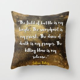 An Ember in the Ashes Throw Pillow