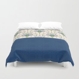 The combined pattern . Duvet Cover