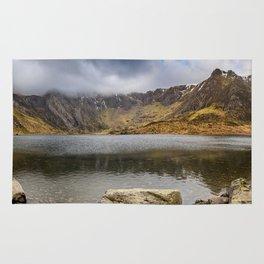 Lake Idwal Winter Rug