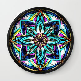 Hype Continues Wall Clock