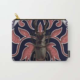 BROWN BEETLE Carry-All Pouch