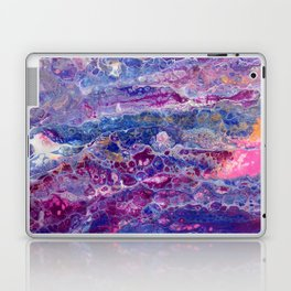 Psycho - Stream of Consciousness in Lively Color Flow by annmariescreations Laptop & iPad Skin