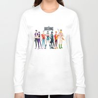 aquaman Long Sleeve T-shirts featuring the rocking league by Andres Moncayo