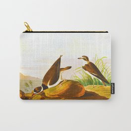 Ring Plover Bird Carry-All Pouch