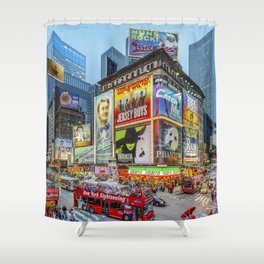 Times Square III Special Edition I Shower Curtain