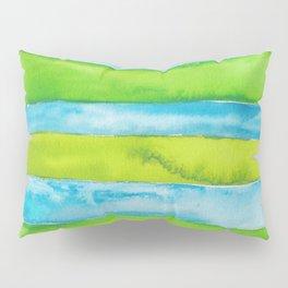 180818 Geometrical Watercolour 5 Pillow Sham