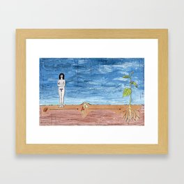 Bean Sprout Framed Art Print
