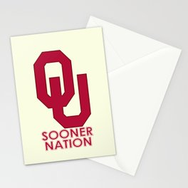 2013 #OU #Sooner football schedule. Stationery Cards