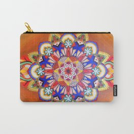 Mandala of Primaries Carry-All Pouch