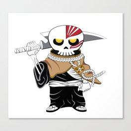 Skully Soul Reaper Canvas Print