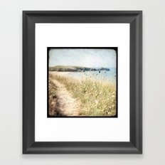 Houat #2 Framed Art Print