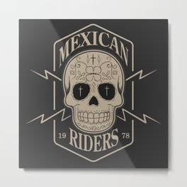 mexican riders Metal Print