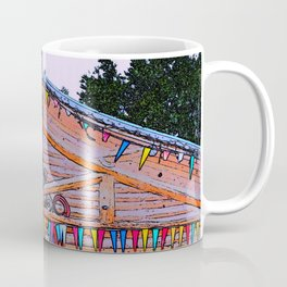 Totem Log Cabin Coffee Mug