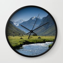 Quebrada Cojup Wall Clock
