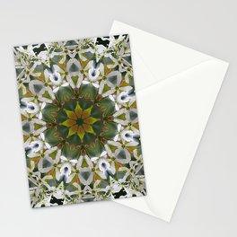 Lacy Serviceberry mandala 0033 k11 Stationery Cards