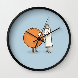 First and Last Kiss Wall Clock
