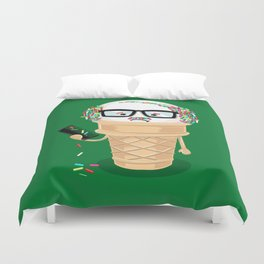 Ice Cream Coneover (Holiday Edition) Duvet Cover