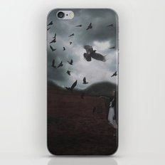 SHIELD THE LAND iPhone & iPod Skin