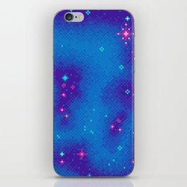 Indigo Nebula (8bit) iPhone Skin