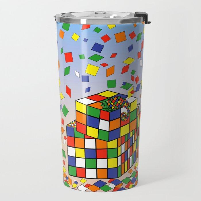 Rubix Panda Travel Mug