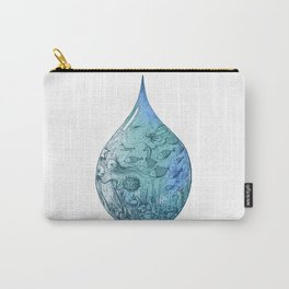 OCEAN DROP Carry-All Pouch