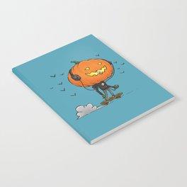 The Skater Pumpkin Notebook