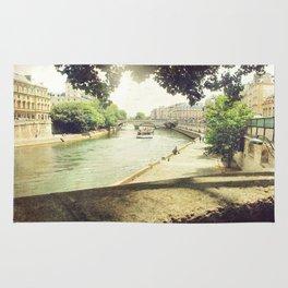 Seine, Paris Rug