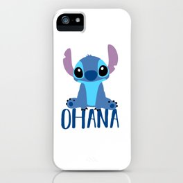 Stitch Ohana iPhone Case