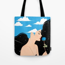 Scent Of Blue Tote Bag
