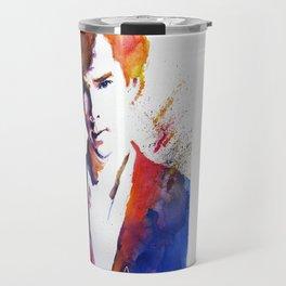 Sherlock - Splash of Colour Travel Mug