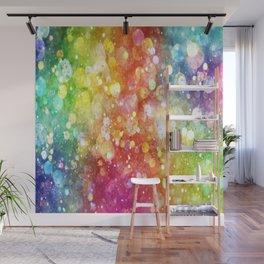 Rainbow of Lights Wall Mural