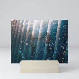 Couple Underwater Mini Art Print