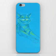 Where's the Canary? (smiley cat) iPhone Skin