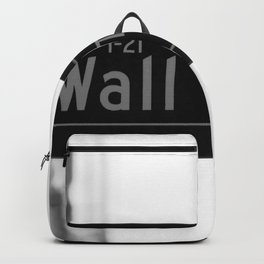 Wall St. Minimal - NYC Backpack