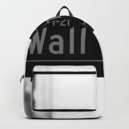 Wall St. Minimal - NYC Backpack