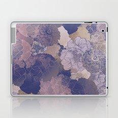 LAVENDER FLORAL HUES Laptop & iPad Skin