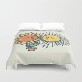 Sun Kissed sunflower Duvet Cover